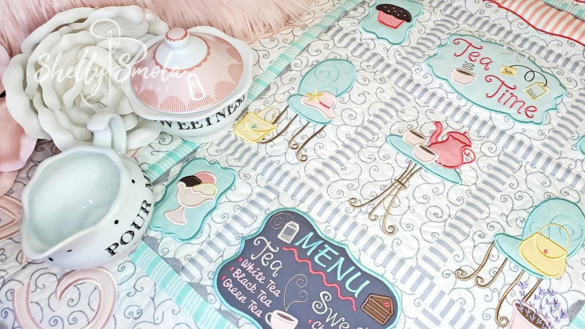 Tea Time Quilt by Shelly Smola