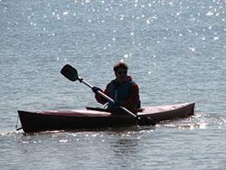 Kayaking at Camp Cavell