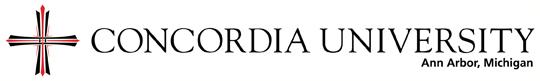 Concordia University Ann Arbor Logo