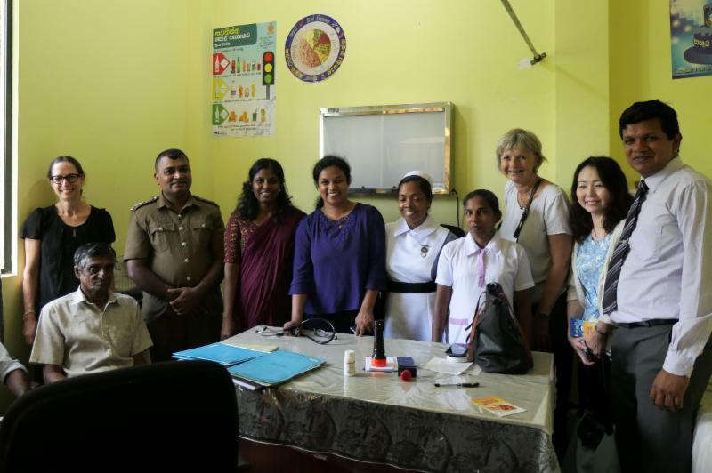 Udugama Hospital in Galle District hosts one of Sri Lankas 24 satellite dermatology clinics.