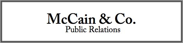 McCain & Co. Masthead