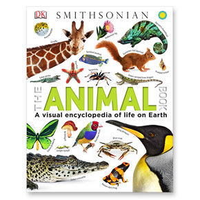 book cover artwork with illustrated animals