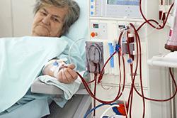 Female on dialysis