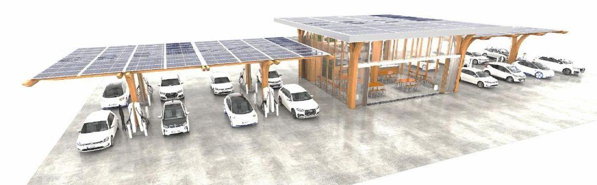 SoLiS Mobility STL EV Charging Station