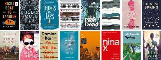 Members books on Not the Booker Prize 2019
