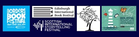 Book festivals logos summer autumn2020