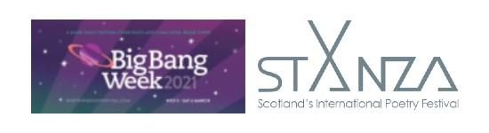 Big Bang Week and StAnza logos 2021