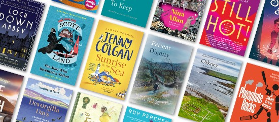 Selection of books from Scotland 2021