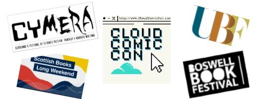 Festivals logos May June 2021