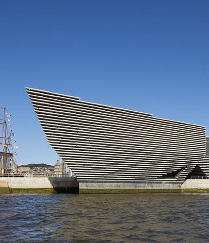 Image of V&A Dundee © Hutton+Crow