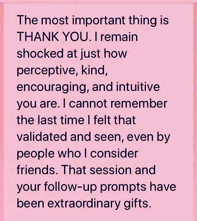 Lauren testimonial seen