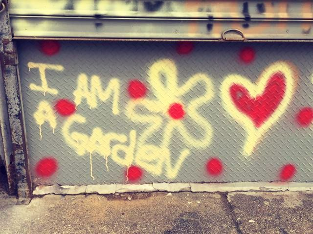 I ama Garden heart
