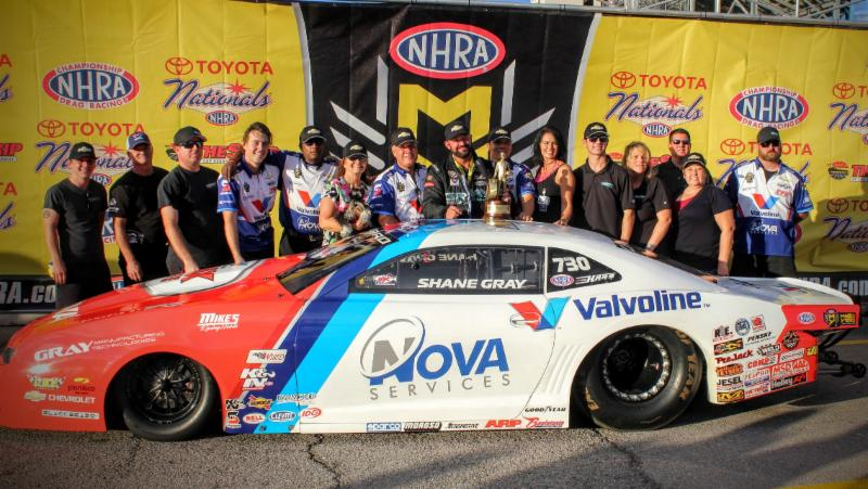 Nhra S Most Recent Winner Shane Gray Looking To Cap Season With