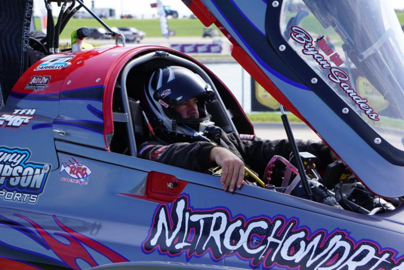Top Fuel Hydro pilot Bryan Sanders pulls off hat trick with