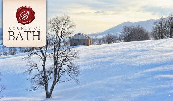 Winter in Bath County Va