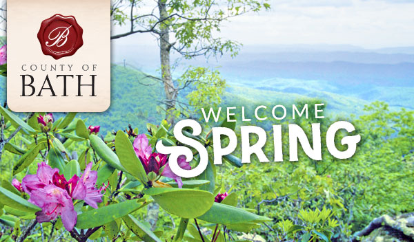 Welcome Spring header
