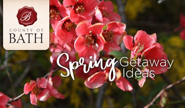Spring Getaway Ideas header