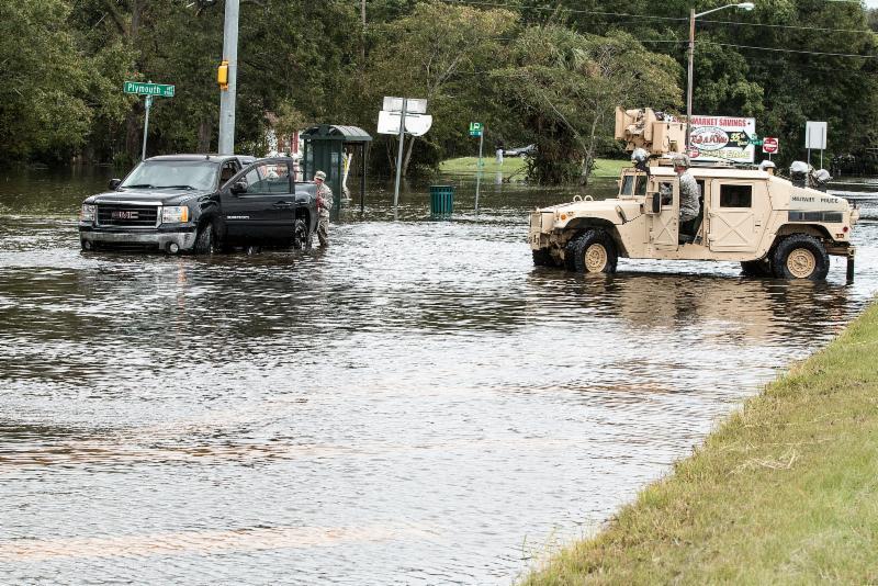 GA Flooding National Guard