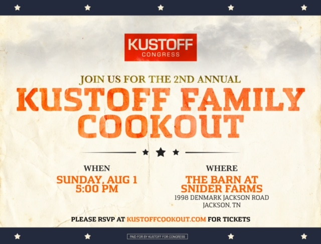 Kustoff Family Cookout!