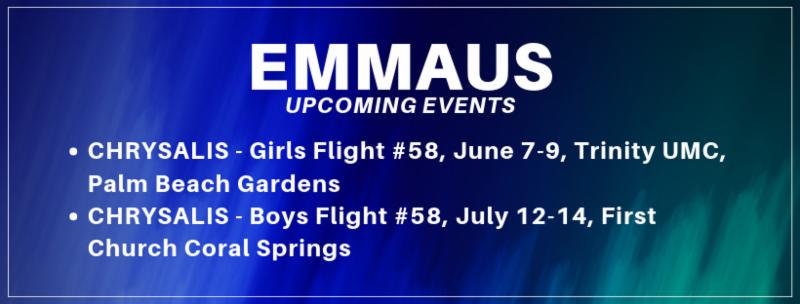 Emmaus Events