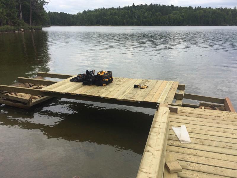 Irene 2 dock