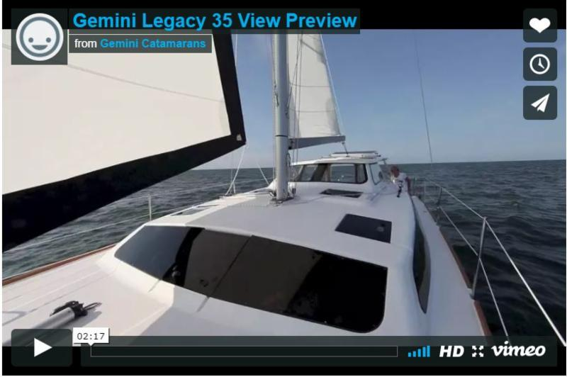 Book the Gemini legacy's 35 for a week in Tortola, BVI