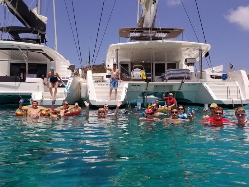multihull sailing vacation