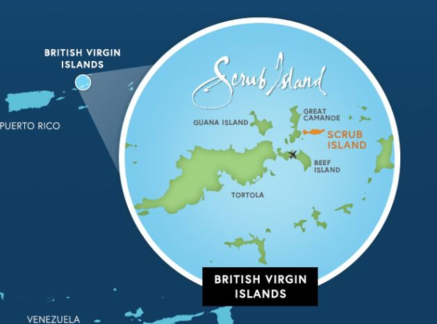 scrub island sailing vacation