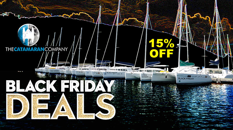 Black Friday Charter Deals aboard brand new Lagoon 42's