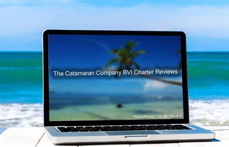 Book a catamaran charter online