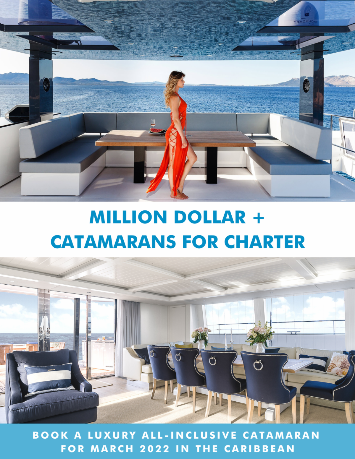 Million Dollar + Catamarans For Charter