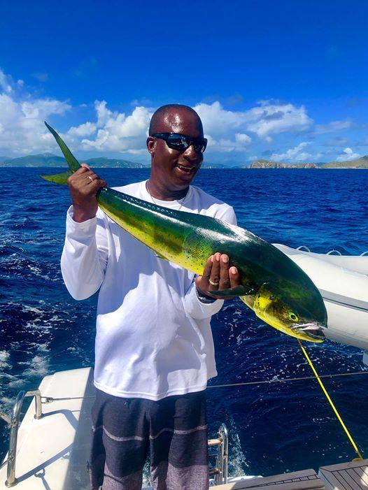 fishing BVI