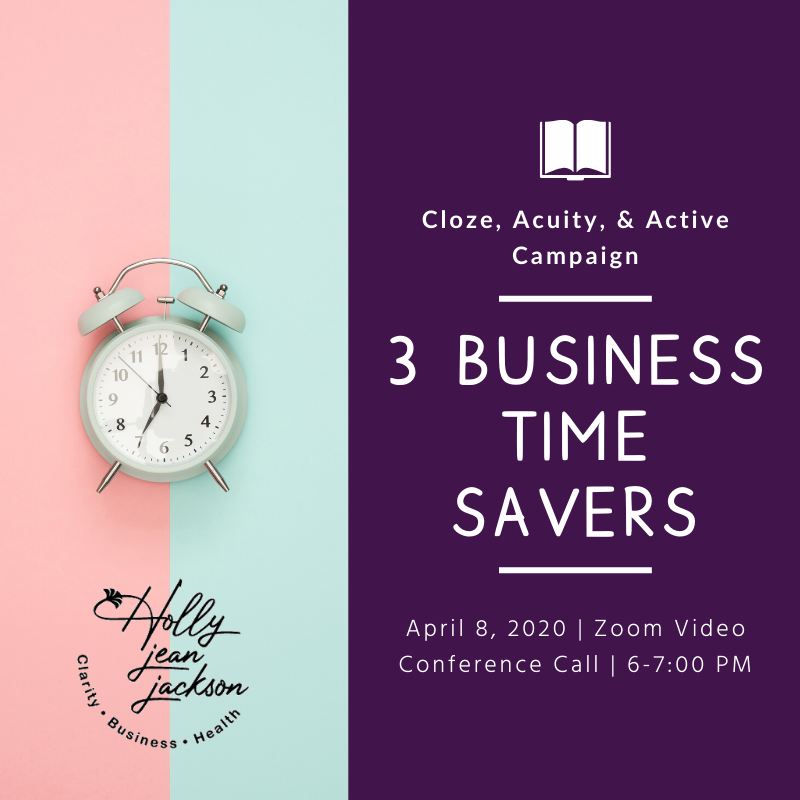 3 Business Time Savers