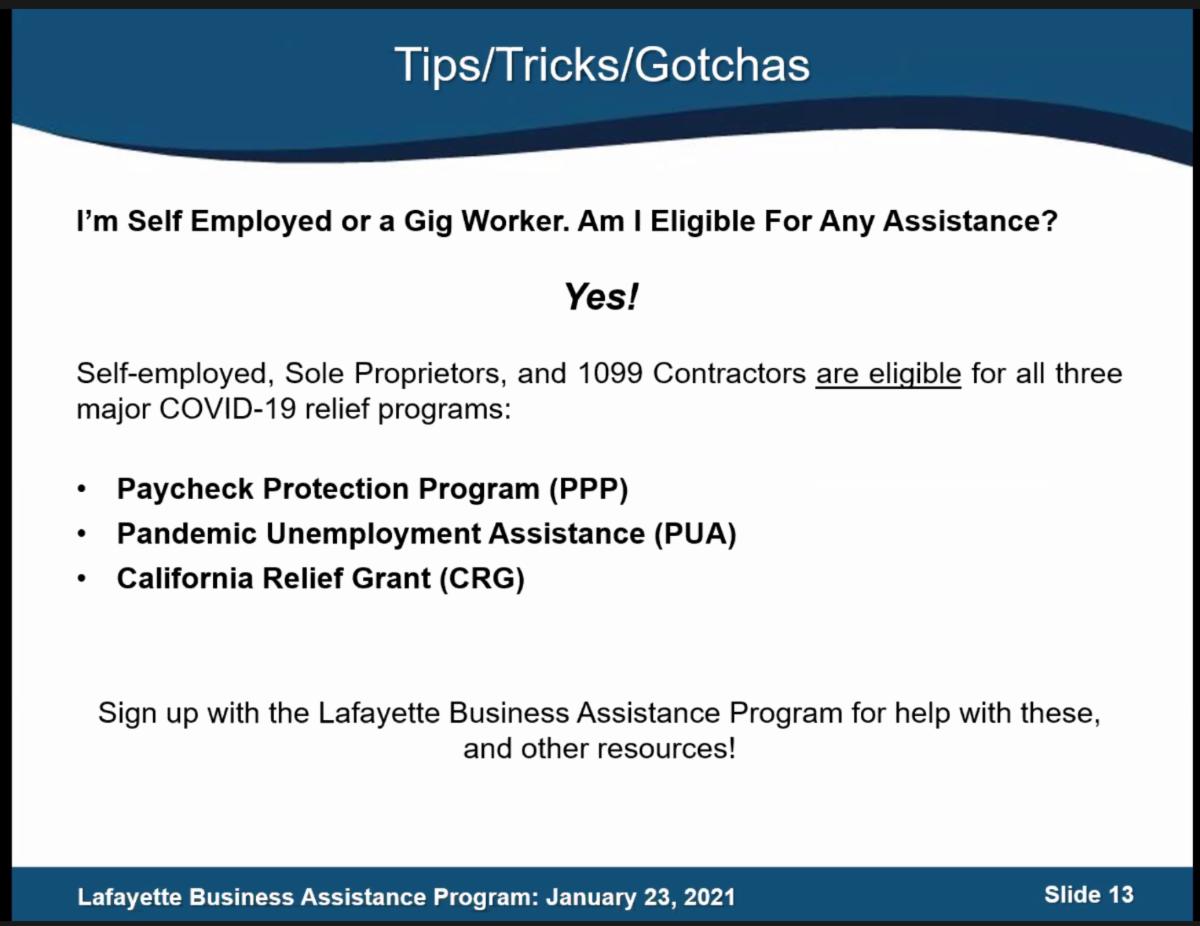 Lafayette's Business Assistance Program