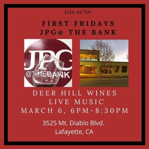 First Fridays at JPG@TheBank