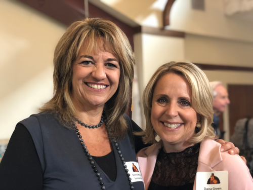 Donna Wright-Sommerville and Dana Green