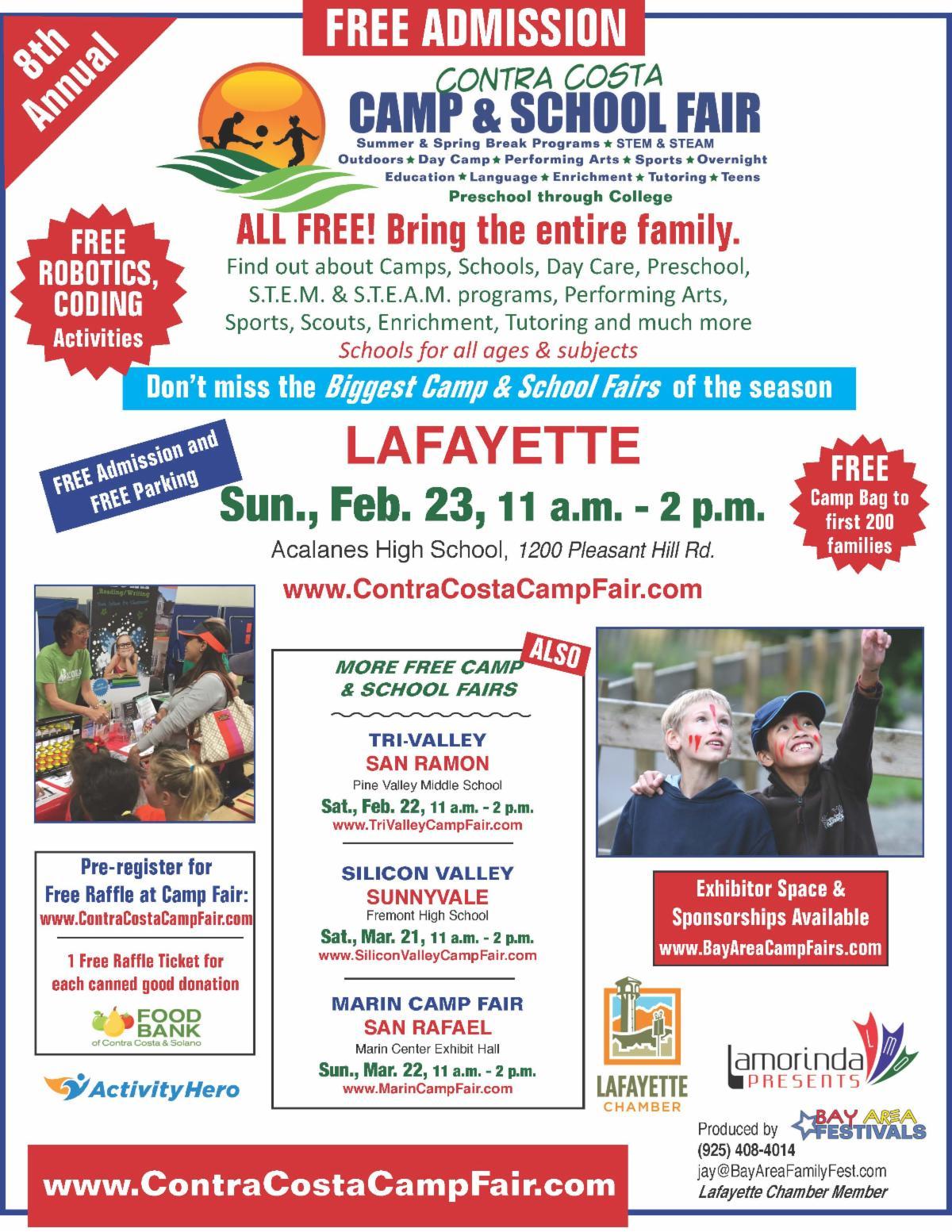 Contra Costa Camp & School Fair