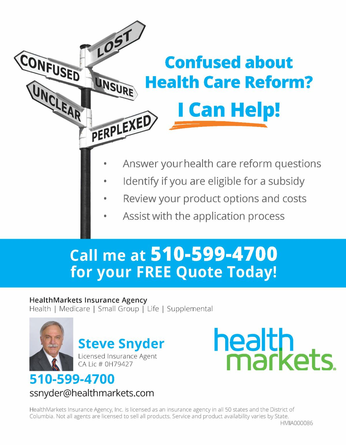 Tuesday Talk: Healthcare Reform