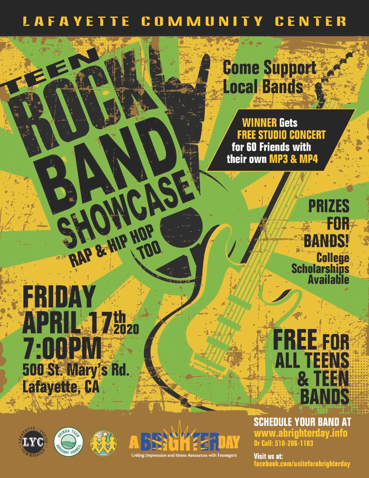 Teen Rock Band Showcase