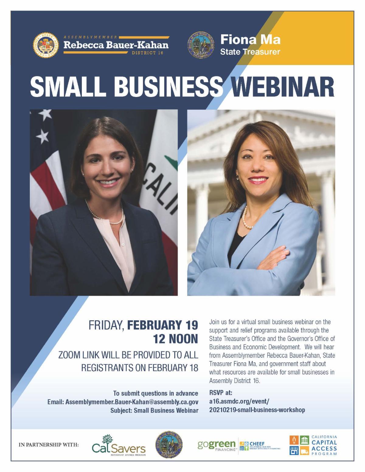 Small Business Webinar