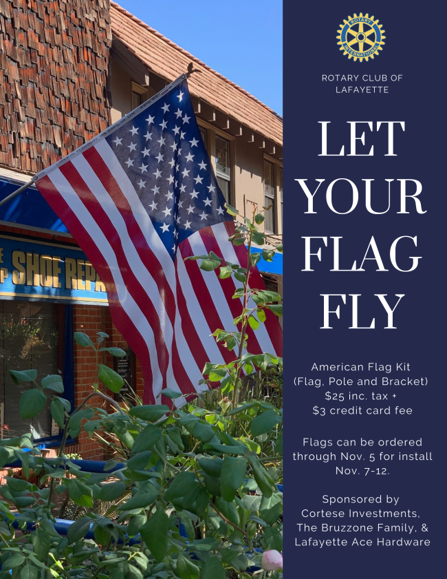 Let Your Flag Fly