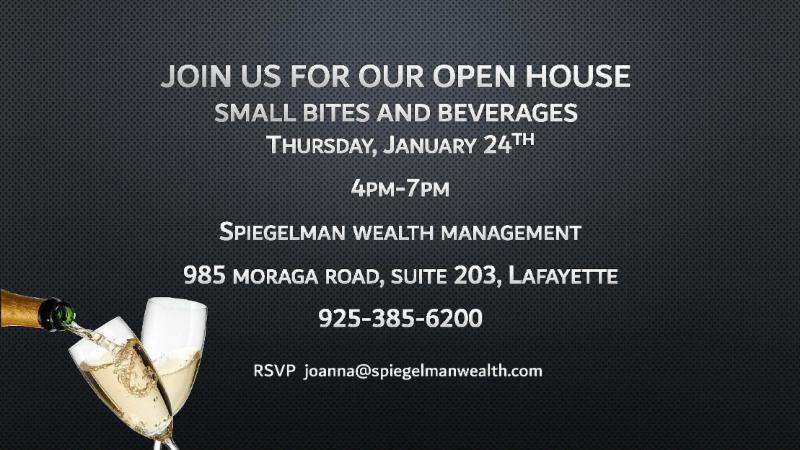 Open House at Spiegelman Wealth Management