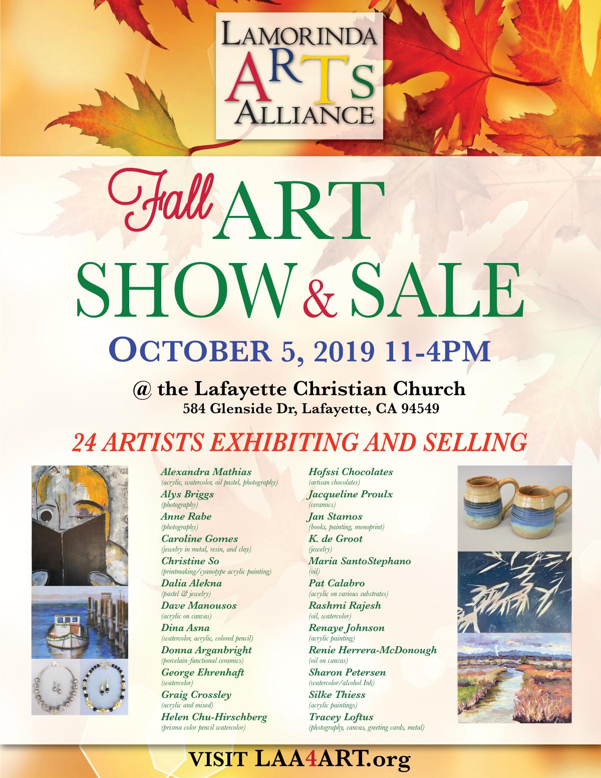Fall Art Show & Sale