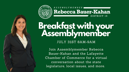 Breakfast with your Assemblymember