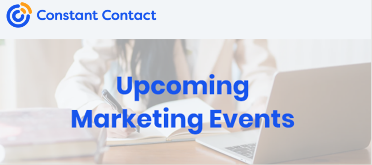 Constant Contact Marketing Webinars