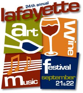 Lafayette Art & Wine Festival - Sept 21 & 22, 2019