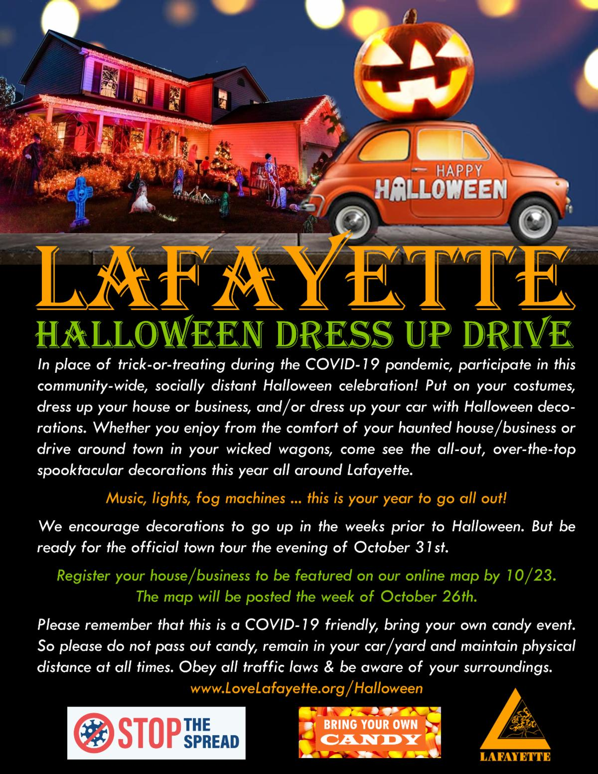 Lafayette Dress Up Drive
