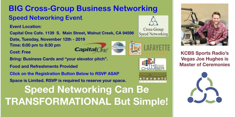 Cross-Group Business Networking