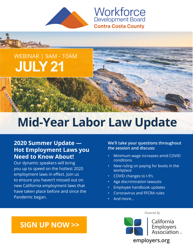 Mid Year Labor Law Update