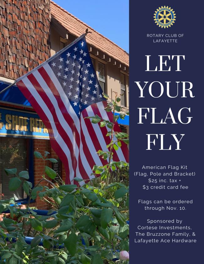 Rotary Flag Fundraiser